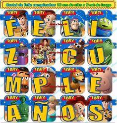 Mega Kit Imprimible Toy Story + Invitación Cajita - Puebla de ...