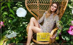 Olivia Palermo in the Aerin Lauder resort 2017 campaign. Olivia Palermo Outfit, Estilo Olivia Palermo, Olivia Palermo Lookbook, Olivia Palermo Style, Cute Beauty, Vacation Outfits, Fashion Images, Style Icons, Editorial Fashion
