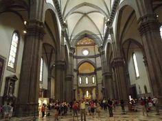 Florence - inside cathedral
