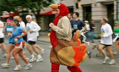 """Will you be running any local """"Turkey Trots"""" ?"""