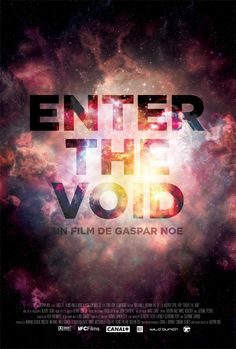 Enter The Void movie poster design by Jack Smith