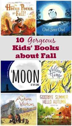 Read about seasonal changes, favorite Autumn activities and more with these great kids books about Fall!