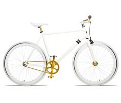 """The Delano """"The 'fixie' has become a popular alternative among mainly urban cyclists, offering the advantages of simplicity compared with the standard multi-geared bicycle. Whatsapp Tricks, Fitness Armband, Fixed Gear Bike, Cafe Racer, 3d Models, Bike Design, Gadgets, Cool Bikes, Industrial Design"""