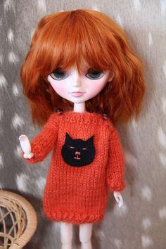 Blythe Vêtement  pour  poupée mais aussi pullip par BarbarraDolls