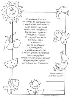 maestra Nella: poesie illustrate