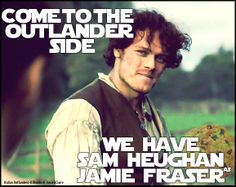 Come to the Outlander Side…we have Sam Heughan as Jamie Fraser! http://italianoutlanders.tumblr.com/