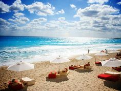 Cancun, Mexico: Ready for a break from the cold? So are we. Cancun is looking pretty great right now!