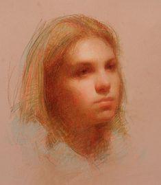Alisha - pastel by Susan Lyon
