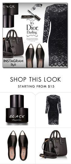 """Untitled #1354"" by fashion-pol ❤ liked on Polyvore featuring Kenneth Cole, Miu Miu, Yves Saint Laurent and Bobbi Brown Cosmetics"