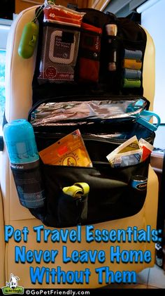 Pet Travel Essentials: Never Leave Home Without Them - My Puppies - Katzen witzig Yorkies, Pvt Canada, Pet Organization, Dog Travel, Service Dogs, New Puppy, Dog Supplies, Travel Supplies, Dog Accessories
