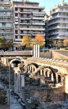 Ruins.. Thessaloniki, Greece (Dave's Photos)