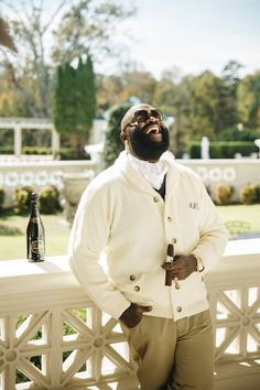 Rick Ross and Lira Mercer Channel Their Inner Lord and Lady of the Manor
