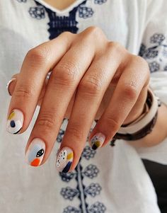 Looking for easy nail art ideas for short nails? Look no further here are are quick and easy nail art ideas for short nails. Minimalist Nails, Popular Nail Designs, Nail Art Designs, Cute Nails, Pretty Nails, Gel Nails, Nail Polish, Acrylic Nails, Diva Nails