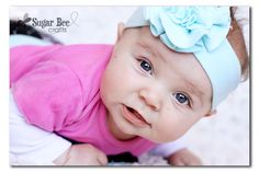 how to make a headband (from a tshirt) that babies will WEAR!