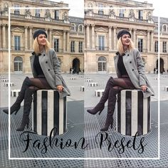 fashion blogger 4 mobile lightroom presets