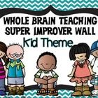 Looking for a way to display your Super Improver Wall?  Why not cute kids?  This file contains the following levels and colors while displaying cut...