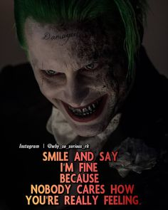 It's damn true Joker Love Quotes, Joker Qoutes, Heath Ledger Joker Quotes, Crazy Quotes, Real Life Quotes, Badass Quotes, Reality Quotes, True Quotes, Motivational Quotes
