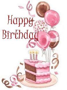 New Ideas Birthday Cake Drawing Clip Art Birthday Greetings Quotes, Happy Birthday Greetings Friends, Happy Birthday Art, Birthday Wishes And Images, Happy Birthday Pictures, Happy Birthday Messages, Cool Birthday Cakes, Birthday Card Gif, Birthday Cake Clip Art