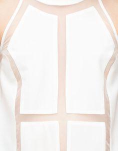 Megalomania Top in White