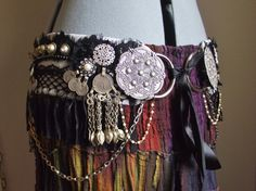 Custom Tribal Fusion Belly Dance Belt