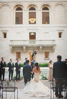 ExtraPetite.com - Our Vintage-inspired Wedding at the Boston Public Library
