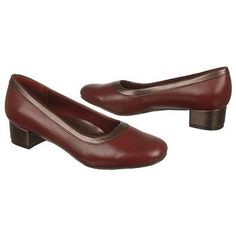 Trotters Dora Shoes (Dark Red/Copper) - Women's Shoes - 9.5 2W