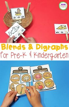 These blends and digraphs activities are perfect for working on blends and digraphs with Kindergarten students (or 1st grade too!) Designed with early readers in mind, these blends and digraphs activities will give you a variety of differentiated centers and options for your students. Blends And Digraphs, Reading Centers, Early Readers, Kindergarten Reading, Reading Strategies, Read Aloud, Comprehension, Activities