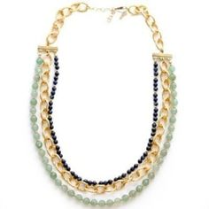 layered necklace by hester