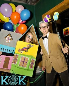 DIY UP house anyone? I still can't believe I pulled this off (and in one night!) Best halloween costume to date.