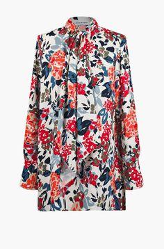 Flowers printed dress - sonia rykiel