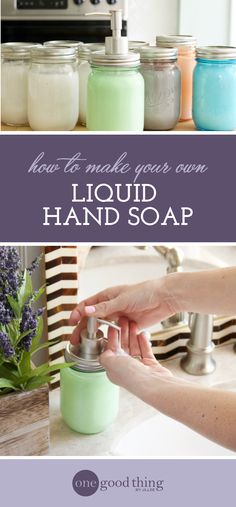 How To Make Resort-Quality Liquid Hand Soap For Under $1 - One Good Thing by Jillee