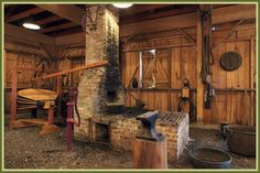 Inside the Blacksmith Shop | i like workshops | Pinterest