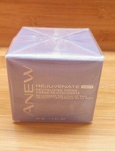 Avon Anew Rejuvenate Night Revitalizing Cream 1.7 oz.~New & Sealed~Free Shipping