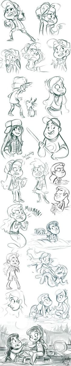 Gravity Falls Stuff by sharpie91.deviantart.com on @deviantART I just love this too much /)>3<( by olga