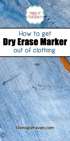 With Elijah in school, his jeans are often marked by dry erase marker. I'm on a mission to figure out the best way to remove dry erase marker from clothes. Deep Cleaning Tips, House Cleaning Tips, Cleaning Hacks, Remover Manchas, Homemade Toilet Cleaner, Clean Baking Pans, Cleaning Painted Walls, Laundry Hacks, Clean Freak