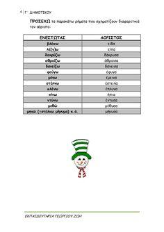 γλώσσα γ΄δημοτικού β΄τεύχος Greek Language, Homework, Tech Companies, School, Greek