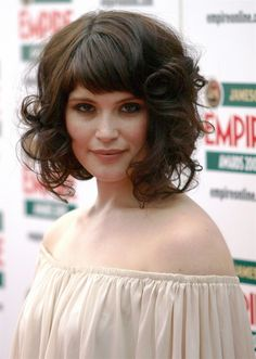 Can You Have Bangs With Curly Hair 6 Steps To Making Sure You Can with measurements 2236 X 3140 Pictures Of Short Curly Hairstyles With Bangs - Short Curly Long Bangs, Short Bangs, Short Hair Cuts, Bob Short, Blunt Bangs, Side Bang Haircuts, Haircuts With Bangs, Fringe Hairstyles, Hairstyles Haircuts
