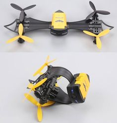 Cheerson CX-70 RC Quadcopter Portable Drone A new age of portable drone has come, Cheerson CX-70 RC Quadcopter is the new flexible drone that can be worn on your wrist! Even the remote control can be attached to the wrist, how amazing is that! This new innovative drone adopts a modular design...