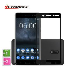 Tempered Glass For Nokia 6 TA-1000 TA-1003 Full Cover Screen Protector Mobile Phone Protection Film 5.5 inch 9H Hardness