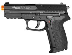 Sig Sauer Licensed SP2022 FPS380 CO2 Airsoft Pistol >>> You can find out more details at the link of the image.