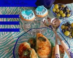 YOU MUST TRY THIS BLUE CHICKEN!!  Pin it NOW! Blue Valentine's Meal #Valentines4All #shop  #cbias