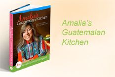 @Amalia - Latin Gourmet with a Cultural Flair was generous enough to donate her AWARD WINNING Guatemalan cookbook to our auction. Bid on this and you will be cooking delicious, authentic Guate cuisine in no time!