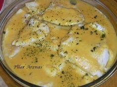 Thermomix, cocina facil de Pilar: Pescado en salsa marinera. Thermomix®