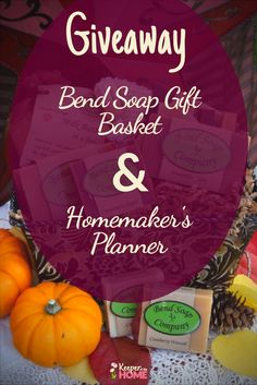 November's Homesteading Giveaway🎈This month's giveaway is here and it is fabulous. ✅ Enter now to win Bend Soap Co.'s Gift Basket and Homemaker's 2018 Planner. Say cheers to November's Homesteading Giveaway! So excited. For Keepers only. Natural Living, Simple Living, 2018 Planner, Goal Planning, Natural Cleaning Products, Healthier You, Natural Home Remedies, Homemade Beauty, Homemaking