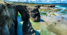 Cathedral Beach, Galicia, Spain