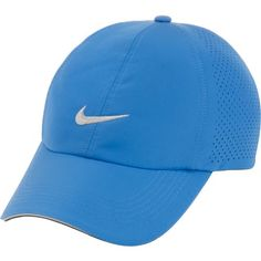light blue nike hat