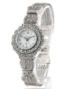 METALLIC CRYSTAL CHAIN LADIES FASHION WATCH - Fashion Watches - Fashion  Watches - Watches 474a4cf4c0