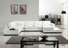 modern furniture | Cheap Modern Furniture Online in White Leather ...