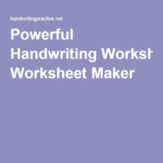 math worksheet : 1000 images about homeschool  penmanship on pinterest  cursive  : Kindergarten Handwriting Worksheet Maker