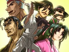 """Kenichi The Mightiest Disciple - *AWESOME!*  It was about a very wimpy high schooler named Kenichi, who, out of fear, always ran away from trouble, until he met a beautiful badass fighter girl named Miu.  Miu brought him to the dojo where she lived.  There Kenichi trained with five martial arts masters in order to protect his friends and save his butt, he became """"the mightiest disciple.""""  Dramatic, funny and perverted, it's a awesome anime."""